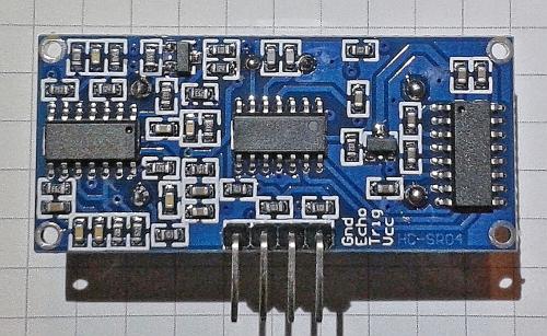 Ultraschall sensor hc sr developer